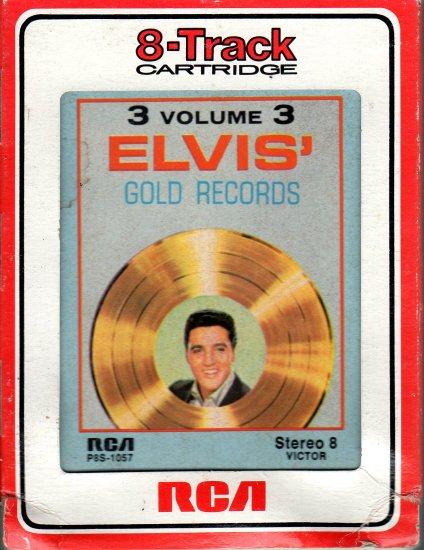 Elvis Presley - Elvis Gold Records Vol 3 8-track tape