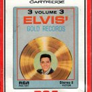 Elvis Presley - Elvis Gold Records Vol 3 8-track tape