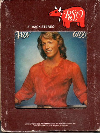 Andy Gibb - Shadow Dancing 8-track tape