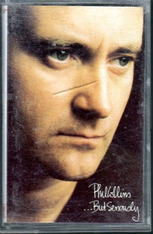 Phil Collins - But Seriously Cassette Tape