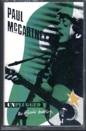 Paul McCartney - Unplugged The Official Bootleg Cassette Tape