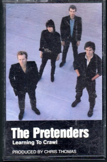 The Pretenders - Learning To Crawl Cassette Tape