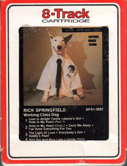 Rick Springfield - Working Class Dog 8-track tape