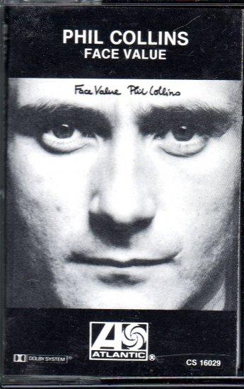 Phil Collins - Face Value Cassette Tape