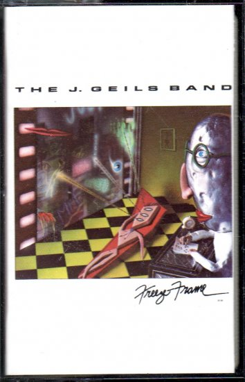 The J. Geils Band - Freeze Frame Cassette Tape