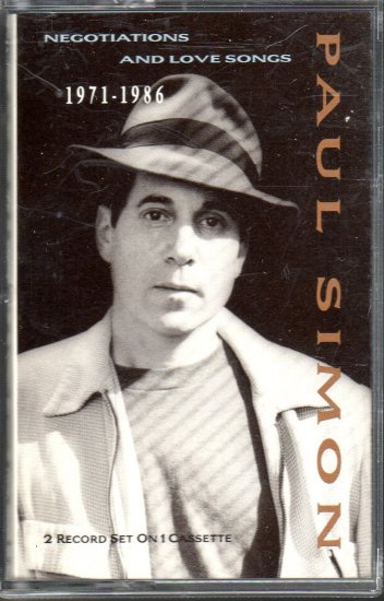Paul Simon - Negotiations And Love Songs 1971- 1986 Cassette Tape