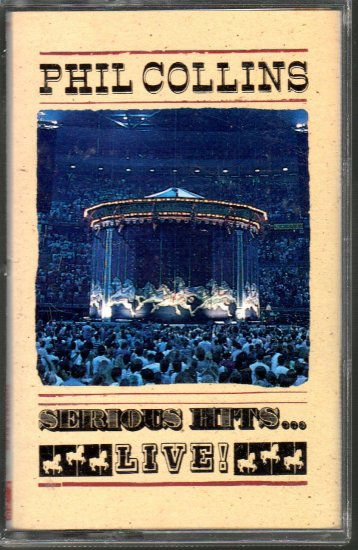 Phil Collins - Serious Hits Live Cassette Tape