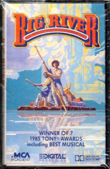 Big River - The Adventures Of Huckleberry Finn OST Sealed Cassette Tape