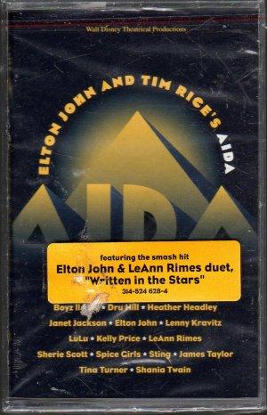 Aida - Elton John And Tim Rices Sealed Cassette Tape
