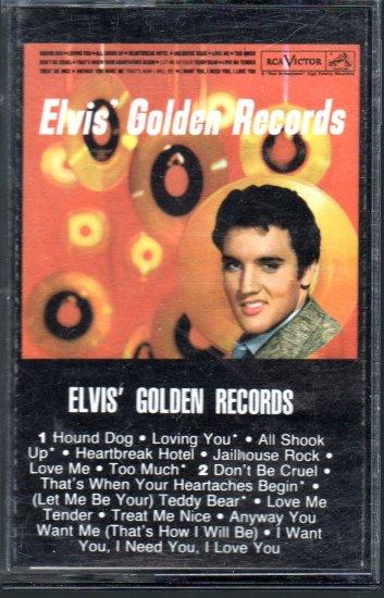 Elvis Presley - Elvis Golden Records Cassette Tape