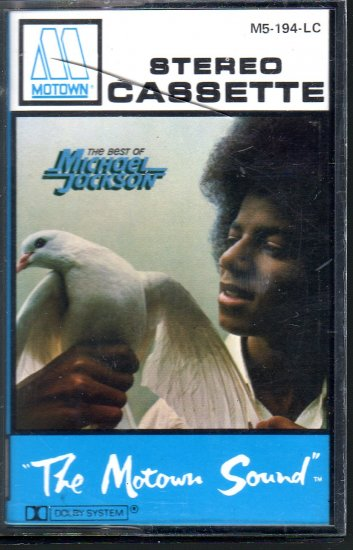 Michael Jackson - The Best Of Cassette Tape