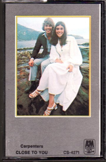 The Carpenters - Close To You Cassette Tape