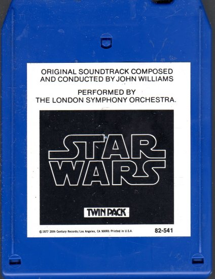 Star Wars - Original Motion Picture Soundtrack 8-track tape