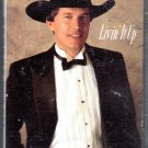 George Strait - Livin' It Up Cassette Tape