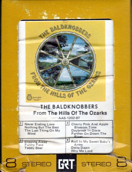 The Baldknobbers - From The Hills Of The Ozarks AA 8-track tape
