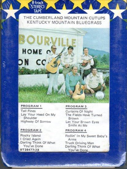 The Cumberland Mountain Cutups - Kentucky Mountain Bluegrass Sealed 8-track tape