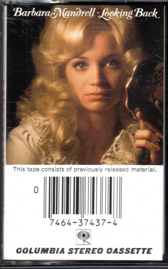 Barbara Mandrell - Looking Back Cassette Tape