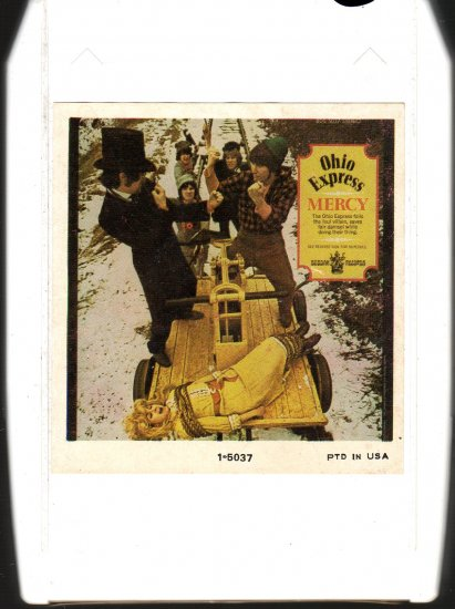 Ohio Express - Mercy 1969 8-track tape