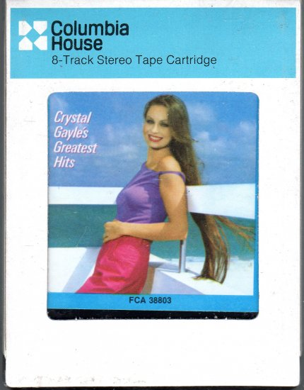 Crystal Gayle - Greatest Hits Sealed CRC 8-track tape