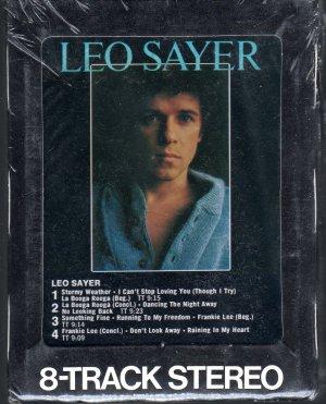 Leo Sayer - Leo Sayer Sealed 8-track tape