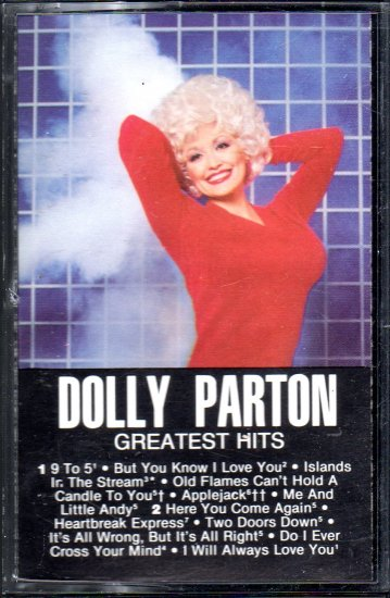 Dolly Parton - Greatest Hits Cassette Tape