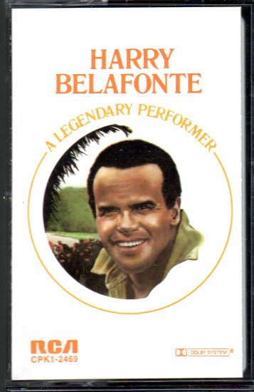 Harry Belafonte - A Legendary Performer Cassette Tape