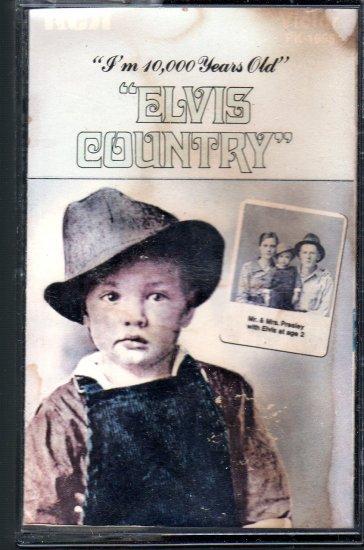 Elvis Presley - Elvis Country Cassette Tape