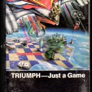 Triumph - Just A Game Cassette Tape