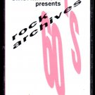 Entertainment Presents - Rock Archives 60's Vol 1 Cassette Tape