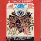 The Music For Unicef Concert - A Gift Of Song Sealed 8-track tape