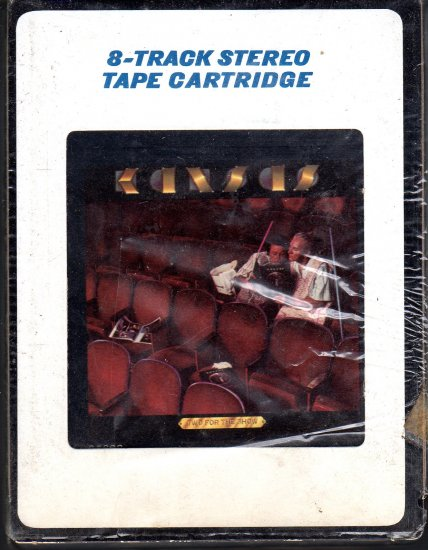 Kansas - Two For The Show 8-track tape