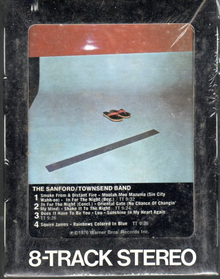 The Sanford / Townsend Band - The Sanford / Townsend Band Sealed 8-track tape