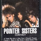 Pointer Sisters - Contact Cassette Tape