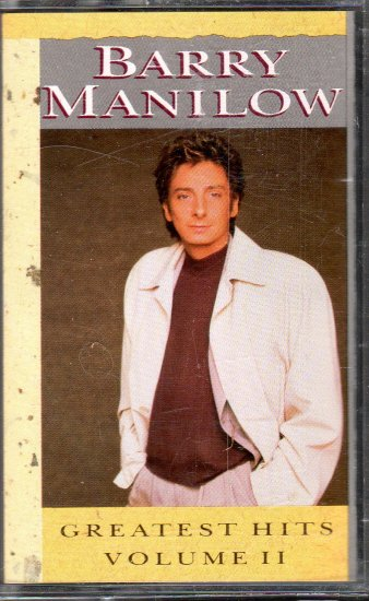 Barry Manilow - Greatest Hits Vol 2 Cassette Tape