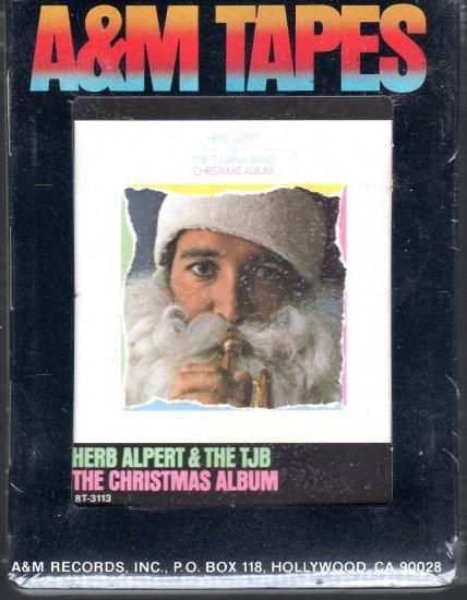 Herb Alpert And The Tijuana Brass - The Christmas Album Sealed 8-track tape
