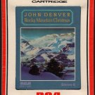 John Denver - Rocky Mountain Christmas 1975 RCA Sealed 8-track tape