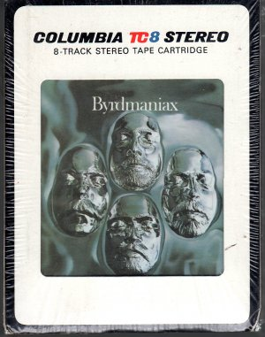 The Byrds - Brydmaniax Sealed 8-track tape
