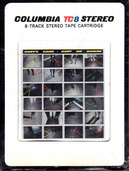 Gary's Gang - Keep On Dancin' 1979 CBS TC8 8-track tape