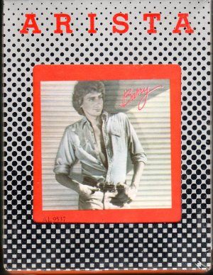 Barry Manilow - Barry 8-track tape
