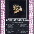 KC & The Sunshine Band - Who Do Ya Love 1978 TK Sealed 8-track tape