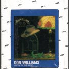 Don Williams - Listen To The Radio 1982 MCA Sealed 8-track tape