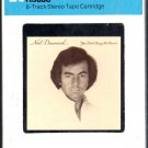 Neil Diamond - You Don't Bring Me Flowers Sealed 8-track tape