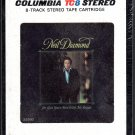 Neil Diamond - I'm Glad You're Here With Me Tonight Sealed 8-track tape