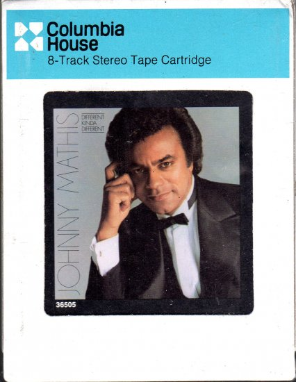 Johnny Mathis - Different Kinda Different Sealed 8-track tape