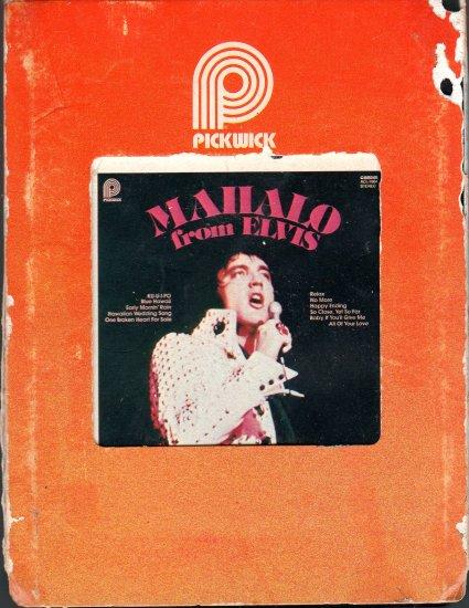 Elvis Presley - Mahalo From Elvis Pickwick 8-track tape