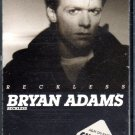 Bryan Adams - Reckless Cassette Tape