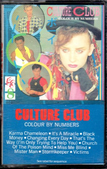 Culture Club - Colour By Numbers Cassette Tape