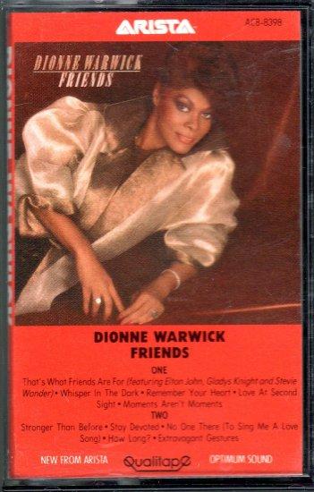 Dionne Warwick - Friends Cassette Tape