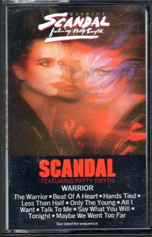Scandal - Warrior Cassette Tape