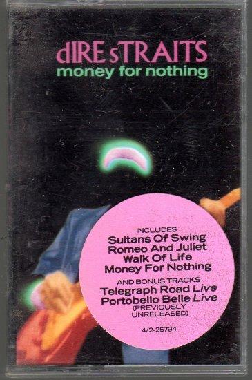 Dire Straits - Money For Nothing Cassette Tape